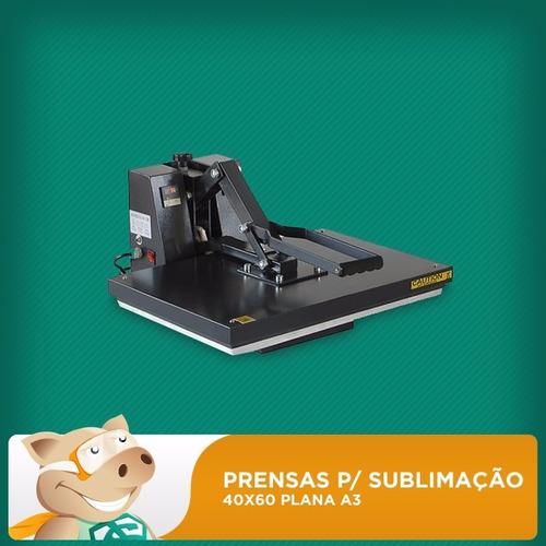 prensa térmica  40x60 plana sublimação!