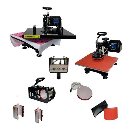 prensa termica 8 em 1 38x38cm caneta 110v + impressora l120