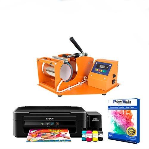 prensa térmica caneca + impressora + ganhar dinheiro em casa