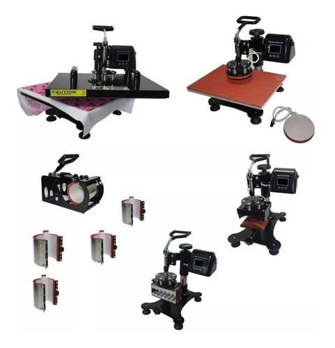 prensa termica digital 10 em 1 a3 a4 para camiseta, bone, caneca, copo, chinelo, caneta, uniforme, capas, prato
