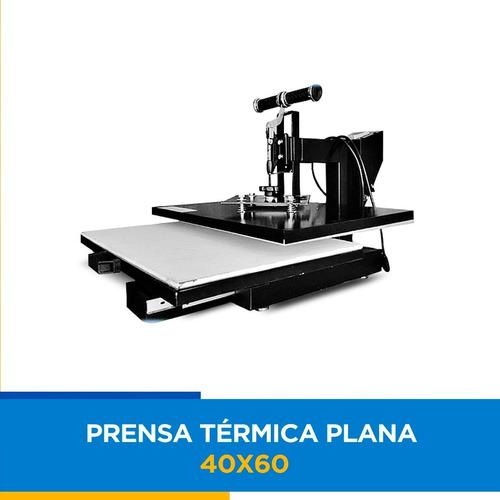 prensa térmica nacional de gaveta sublimação 40x60