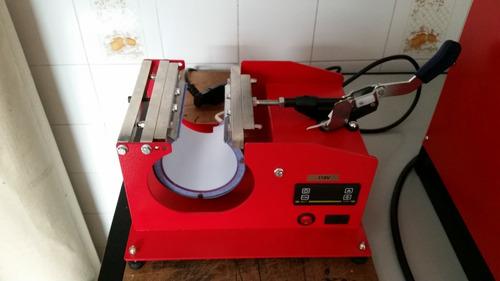 prensa térmica para canecas sublimática  rimaq