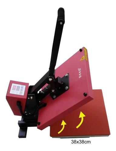 prensa termica plana 220vol 38x38cm + impressora epson l3110