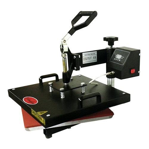 prensa térmica plana 38x38 giratória sublimação camiseta etc