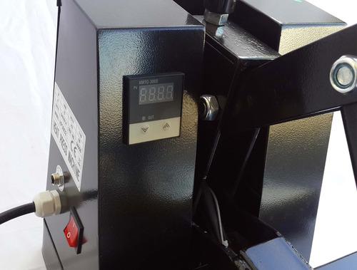prensa térmica plana 38x38cm para chinelo camiseta mousepad