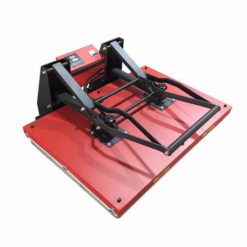 prensa térmica plana para sublimação - 60x80