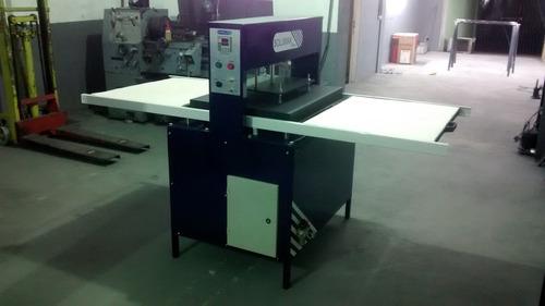 prensa térmica semi automática pneumática - 80x60