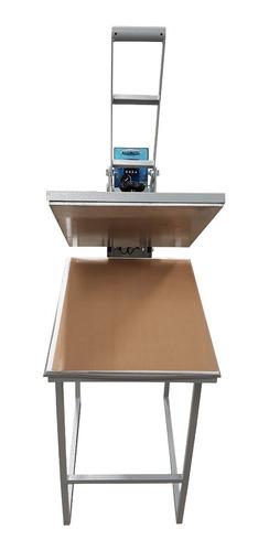 prensa térmica  sublimação 40x35 maquinatec mesa grátis!
