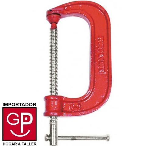 prensa tipo ''c'' 4'' acero alto carbono best value g p