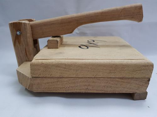 prensa tortilladora aplaston manual tortilla maíz harina 9x9