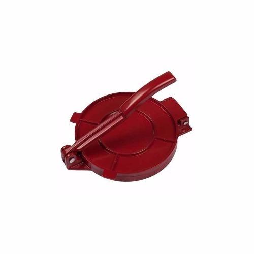 prensa tortilleradora turmix rojo aluminio reforzado