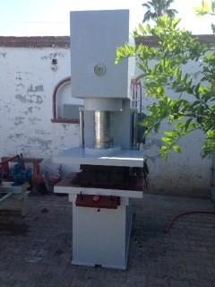 prensa y homogenisador para fabricacion de teja