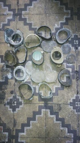 prensas antiguas moldes, molduras de bronce dentista.