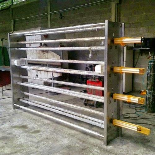 prensas hrizontales para quesos de 3 o 6 metros