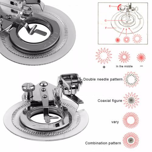 prensatela especiales maquinas de coser singer brother