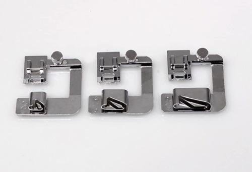 prensatelas dobladillos kit de 3 piezas