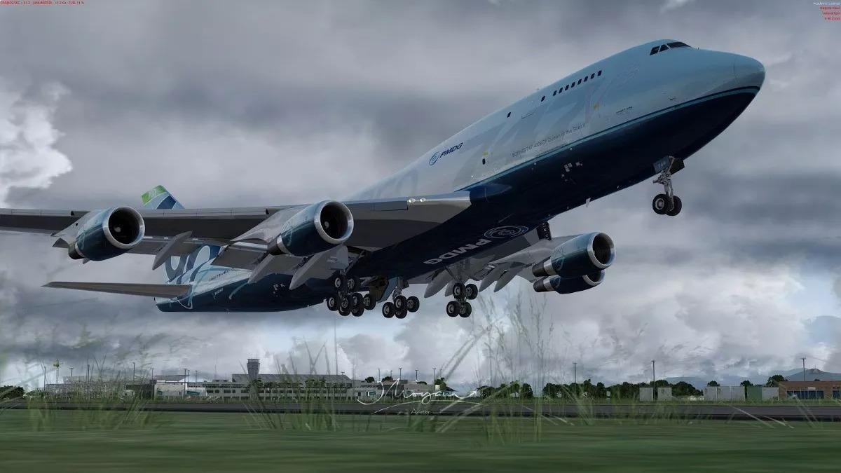 Prepar3d - Pmdg 747-400/800 Qots (v3 00 9431)