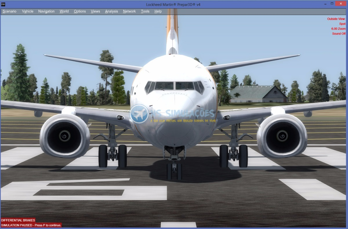 Prepar3d V4 - Pmdg 737- 800 900 Ngx - P3d V4 + Textura