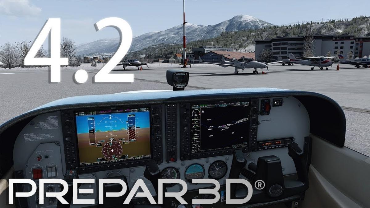 Prepar3d V4 2 Atualização Original Professional Plus P3d