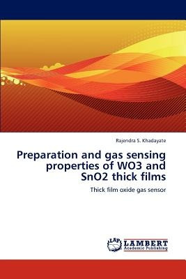 preparation and gas sensing properties of wo3 a envío gratis