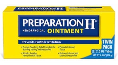 preparation h ointment  4 onz. pum: $3 - kg a $1161