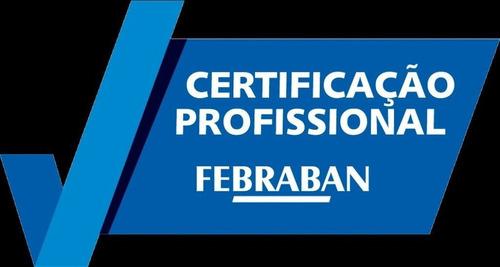 preparatório certificação febraban aneps aprovação garantida
