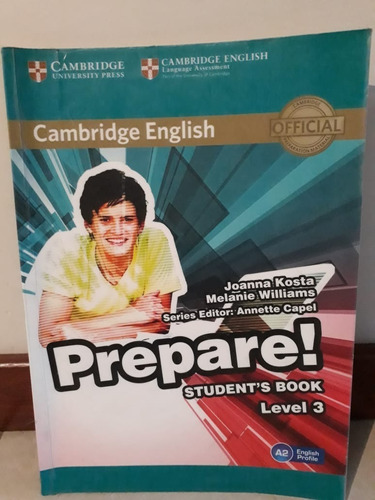 prepare! level 3 student´s book