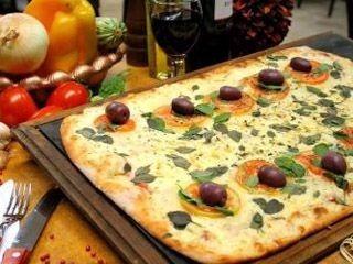 prepizza rectangular casera para gastronomias