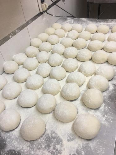 prepizzas caseras piedra y molde 400gr ,36 cm