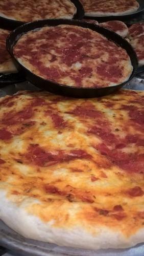 prepizzas caseras, pletzalej y pizzetas