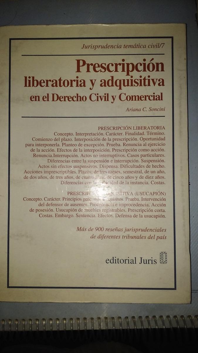 Prescripcion Liberatoria Y Adquisitiva 200 00 En Mercado Libre # Muebles Registrables
