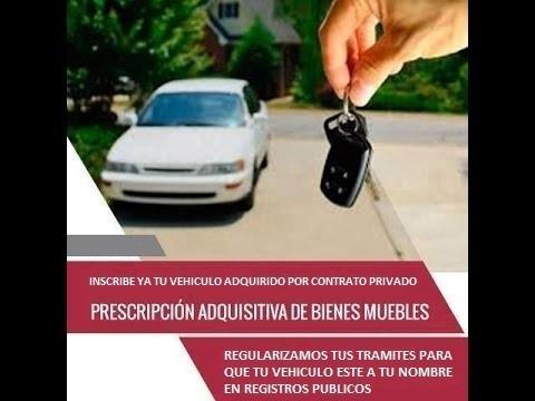 prescripcion vehicular