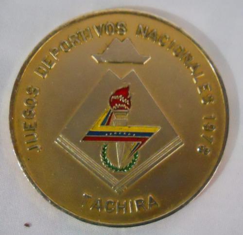 presea de oro 1978, i juegos nacionales de venezuela