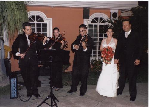 presentacion de violinistas en vivo para eventos... desde...