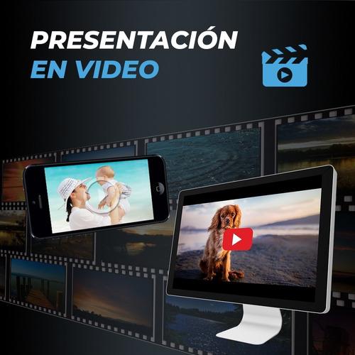 presentación en video