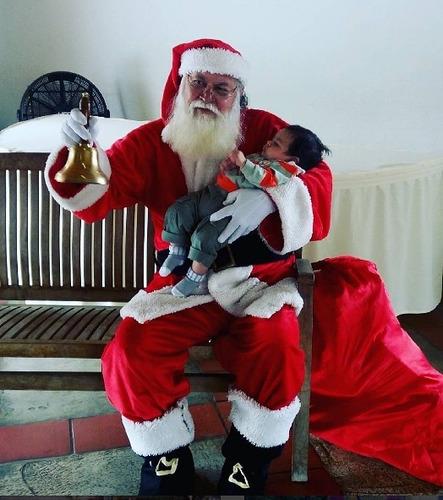 presentación santa claus. navidad santa claus sólo bqto