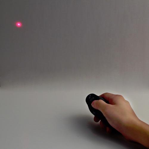 presentador de diapositivas con puntero laser inalámbrico