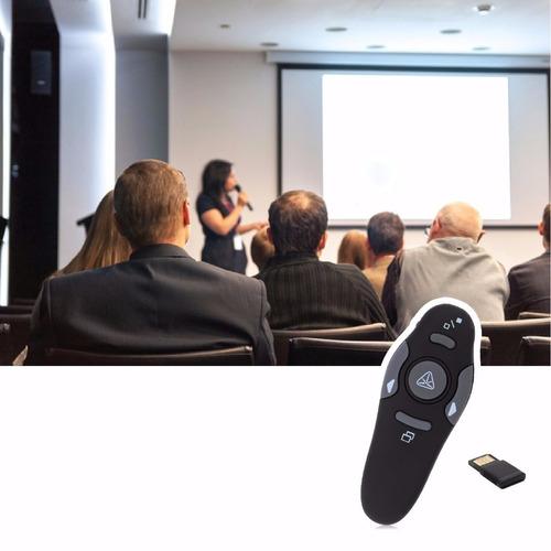 presentador inalámbrico diapositivas, exposiciones con laser