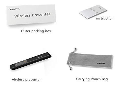 presentador puntero laser inalambrico powerpoint prezi mac