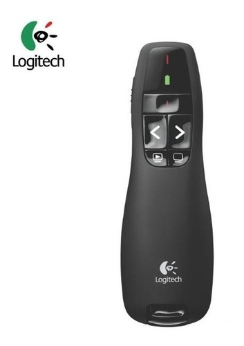 presentador puntero laser inalámbrico similar logitech r400