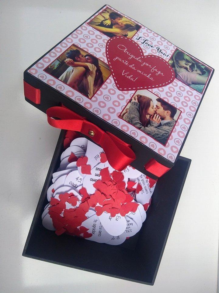 Presente Criativo Para Namorado Caixa 365 Motivos P Te