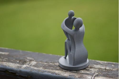presente dia das mães escultura mãe filho maternidade 10 cm