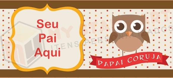 a1f947ba6c Presente Dia Dos Pais Caneca Papai Coruja Personalizada Foto - R  32 ...