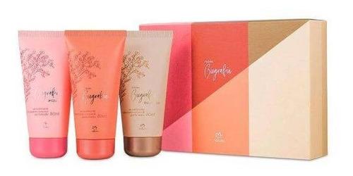 presente natura trio de hidratantes perfumados