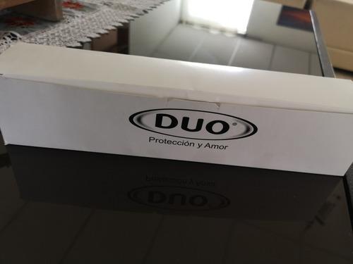 preservativo duo individual caja por 50 unidades