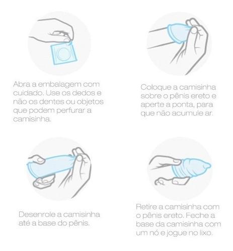 preservativo lubrificado sex free aroma açaí com 3un  sex008