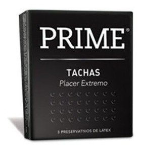 preservativo prime cajita x 3 unidades