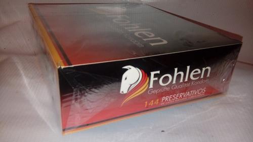 preservativos  fohlen    * despacho gratis *, 2 cajas de 144
