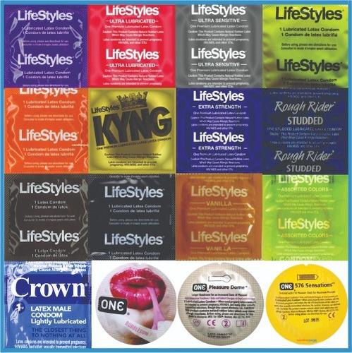 preservativos lifestyles | 100 unidades |mezcla como quieras