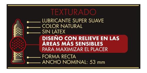 preservativos prime skyn texturado x3 un. relieve mas placer